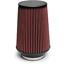 Universal Air Filter - Red, Cotton & Synthetic Blend, Washable, Universal, Sold individually