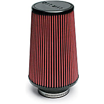 Airaid 701-420 Universal Air Filter - Red, Synthetic, Washable, Universal, Sold individually
