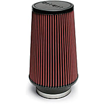 Airaid 701-470 Universal Air Filter - Red, Synthetic, Washable, Universal, Sold individually