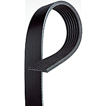 AC Delco 12634319 Accessory Drive Belt - Direct Fit, Sold individually