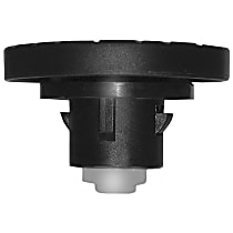AC Delco 12F9L Gas Cap - Black, Locking, Direct Fit, Sold individually