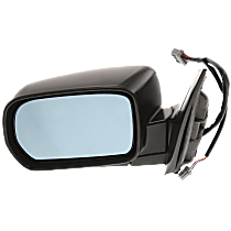 Mirror - Driver Side, Power, Heated, Paintable, With Memory, For Models With Touring Package