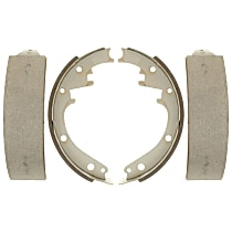 Brake Shoe Set - Direct Fit, 2-Wheel Set Rear