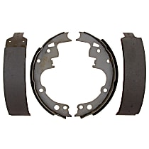 AC Delco 14514B Brake Shoe Set - Direct Fit, 2-Wheel Set