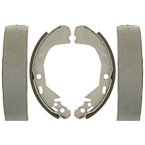 AC Delco 14720B Brake Shoe Set - Direct Fit, 2-Wheel Set