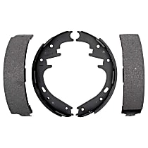 AC Delco 14723B Brake Shoe Set - Direct Fit, 2-Wheel Set