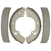 AC Delco 14735B Brake Shoe Set - Direct Fit, 2-Wheel Set