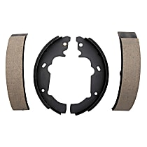 AC Delco 14780B Brake Shoe Set - Direct Fit, 2-Wheel Set