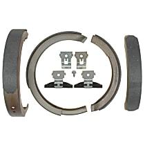 AC Delco 14781B Parking Brake Shoe - Direct Fit, 2-Wheel Set