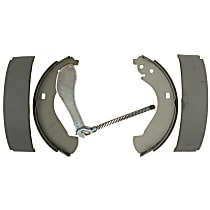 AC Delco 14855B Brake Shoe Set - Direct Fit, 2-Wheel Set