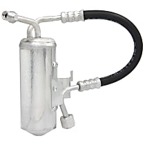 AC Delco 15-10071 A/C Receiver Drier - Suction, Direct Fit, Assembly