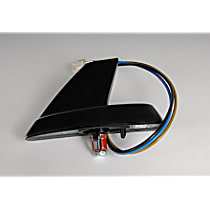 Antenna - Black, Power Antenna, Direct Fit