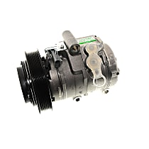 15-21194 A/C Compressor Sold individually With clutch, 6-Groove Pulley