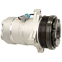 15-22143A A/C Compressor Sold individually With clutch, 6-Groove Pulley