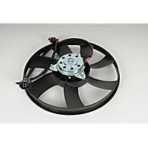 AC Delco 15-40522 Fan Motor - Black, Single, Direct Fit, Sold individually