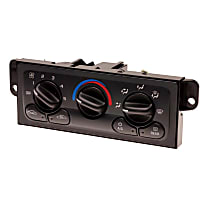 15-72609 A/C & Heater Control - 1-Piece, Direct Fit