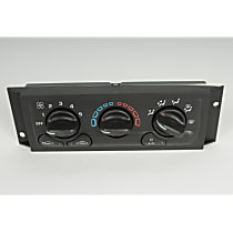 15-72943 A/C & Heater Control - 1-Piece, Direct Fit