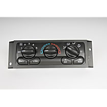 A/C Control Unit - Direct Fit, Assembly