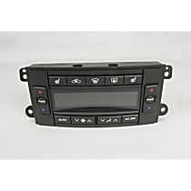 15-73169 A/C & Heater Control - 1-Piece, Direct Fit