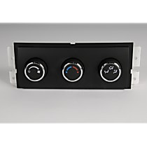 A/C & Heater Control - 1-Piece, Direct Fit