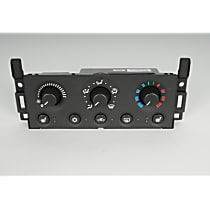 AC Delco 15-73557 A/C & Heater Control - 1-Piece, Direct Fit