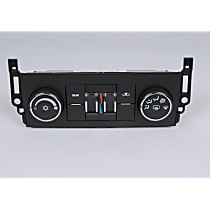 15-74003 A/C & Heater Control - 1-Piece, Direct Fit