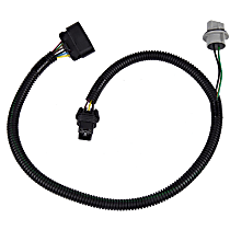 AC Delco 15803483 Tail Light Wiring Harness - Direct Fit, Sold individually