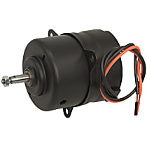 15-80408 Fan Motor - Black, Single, Direct Fit, Sold individually