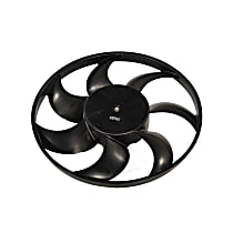 15-80520 Fan Motor - Black, Single, Direct Fit, Sold individually