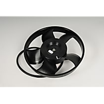 AC Delco 15-80815 Fan Motor - Black, Single, Direct Fit, Sold individually