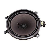 Speaker - Black, Direct Fit, Sold individually