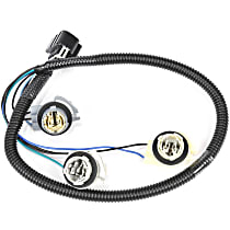 AC Delco 16531490 Tail Light Wiring Harness - Direct Fit, Sold individually