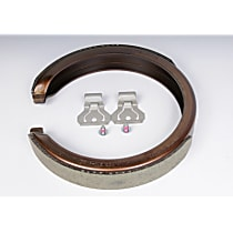 AC Delco 171-0892 Parking Brake Shoe - Direct Fit, Sold individually