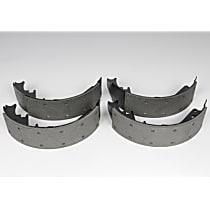 Brake Shoe Set - semi-metallic lining, Direct Fit, 2-Wheel Set Rear