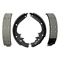 AC Delco 17462R Brake Shoe Set - Direct Fit, 2-Wheel Set