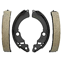 AC Delco 17724B Brake Shoe Set - Direct Fit, 2-Wheel Set