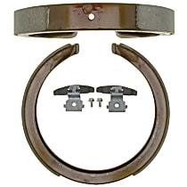 17781B Parking Brake Shoe - Direct Fit, 2-Wheel Set