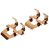 AC Delco 179-1205 Brake Hardware Kit - Direct Fit, Kit