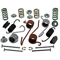 AC Delco 18K553 Brake Hardware Kit - Direct Fit, Kit