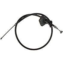 AC Delco 18P1058 Parking Brake Cable - Direct Fit, Sold individually