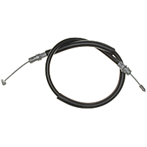 AC Delco 18P1175 Parking Brake Cable - Direct Fit, Sold individually