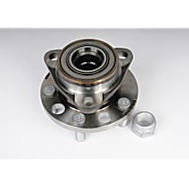 Front, Driver or Passenger Side Wheel Hub With Ball Bearing - Sold individually