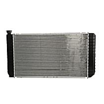 Aluminum Core Plastic Tank Radiator, 26.25 x 15 x 1.38 in. Core Size