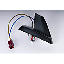 AC Delco 20791465 Antenna - Black, Plastic, Fixed Antenna, Direct Fit