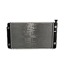 Aluminum Core Radiator, 28.25 x 17.25 x 1 in. Core Size