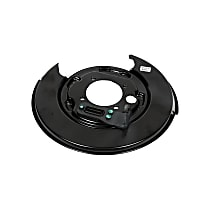 AC Delco 20933373 Brake Dust Shields - Black, Direct Fit, Sold individually