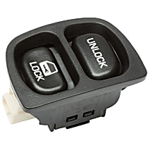 AC Delco 21023581 Door Lock Switch - Black, Direct Fit, Sold individually