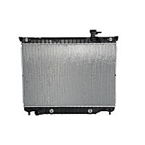 Copper Core Radiator, 27 x 18.12 x 0.87 in. Core Size