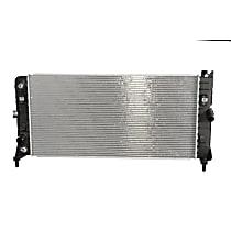 Aluminum Core Plastic Tank Radiator, 29.37 x 14.56 x 0.87 in. Core Size