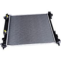 Aluminum Core Plastic Tank Radiator, 36.9 x 28.4 x 6.8 in. Core Size
